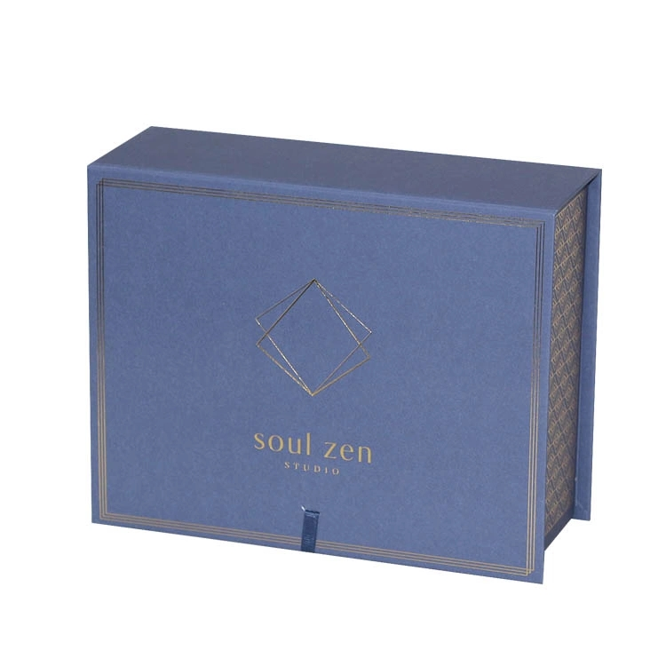 Custom Foldable Paper Box for Clothing with Ribbon