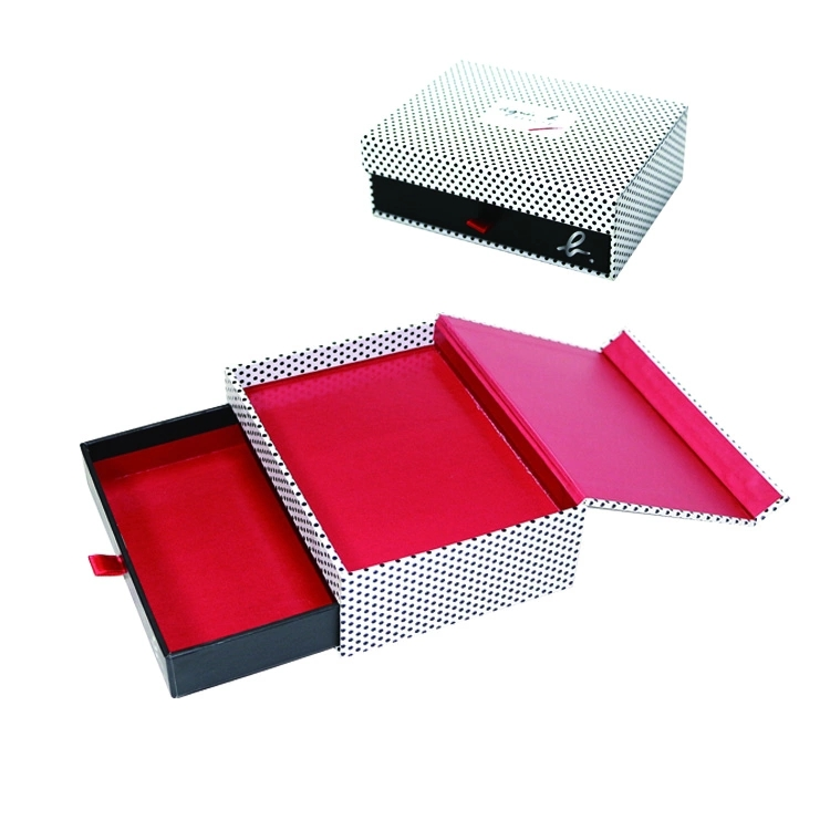 Luxury Cosmetics Paper Cardboard Gift Box with Blister